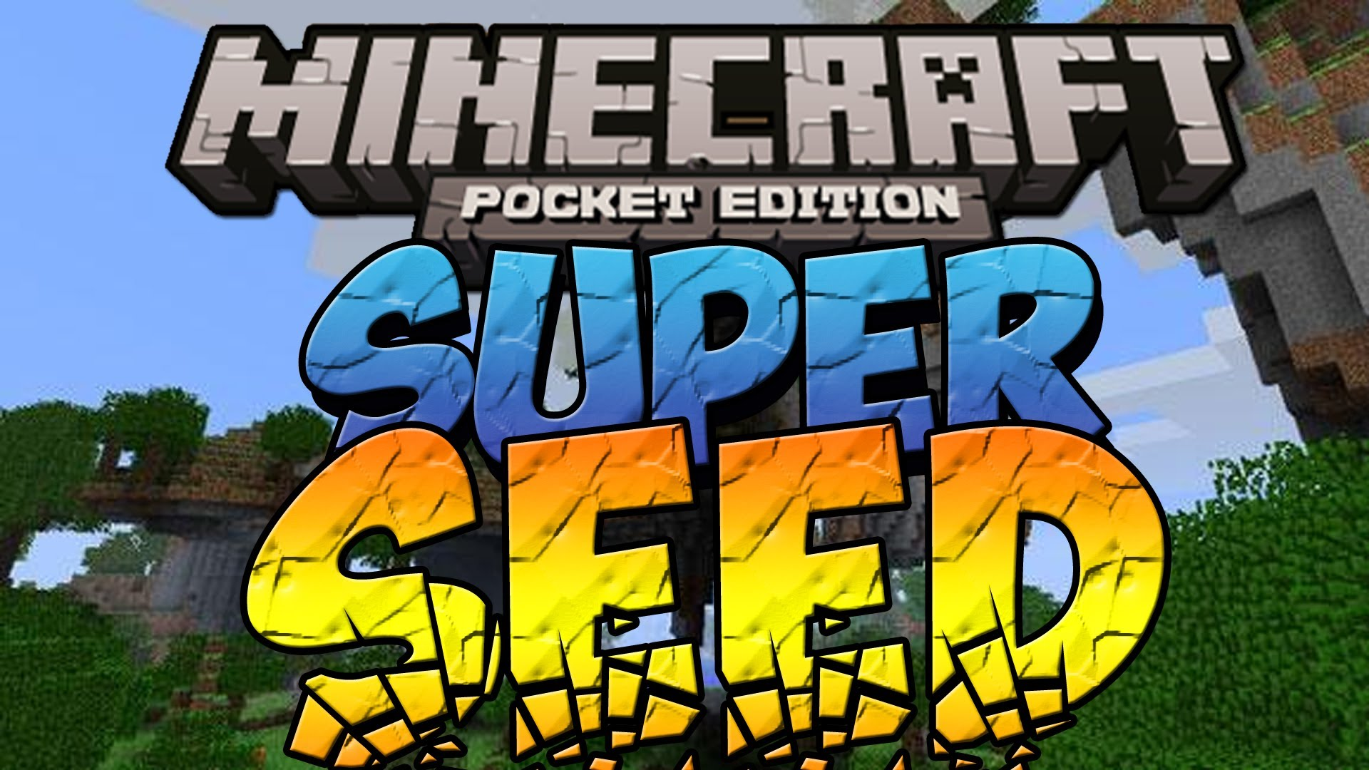 How do you know creepers in Seeds for Minecraft PE game